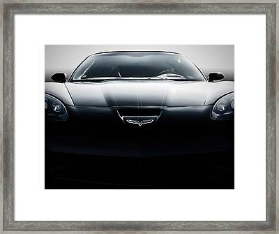 Grand Sport Corvette Framed Print by Douglas Pittman