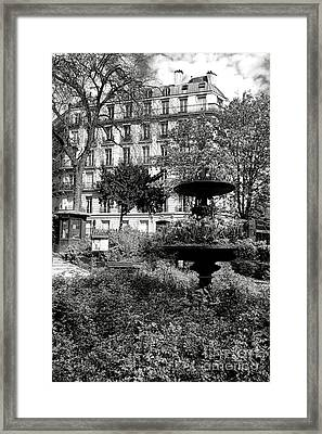 Grand Standing Framed Print by Olivier Le Queinec