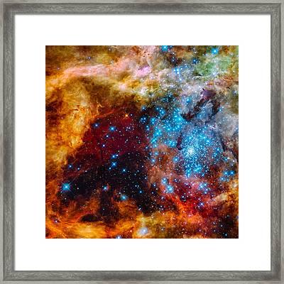 Grand Star-forming Region Framed Print