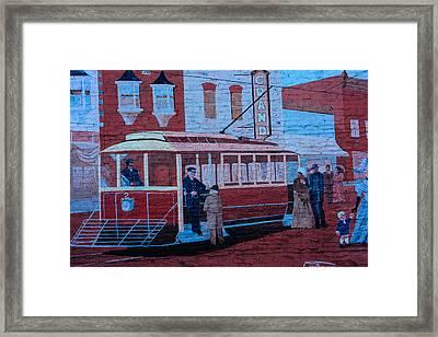 Grand Streetcar Framed Print