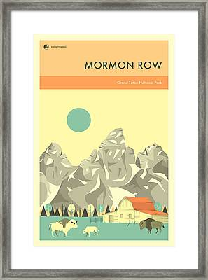 Grand Teton National Park - Mormon Row Framed Print