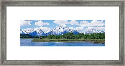 Grand Teton National Park Wy Framed Print