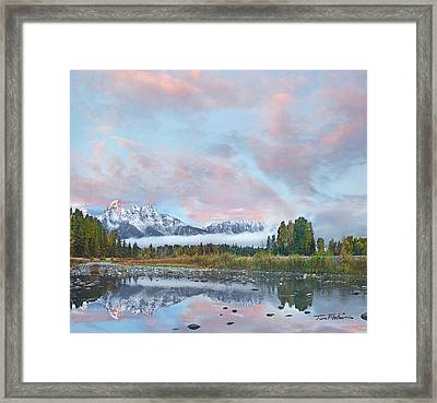 Grand Teton National Park, Wyoming Framed Print