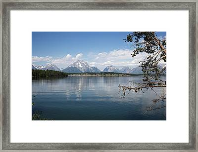 Grand Teton Range Framed Print