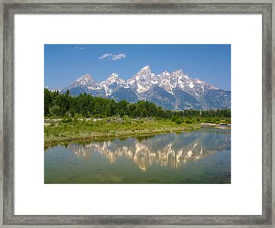 Grand Teton View Framed Print by Phil Stone