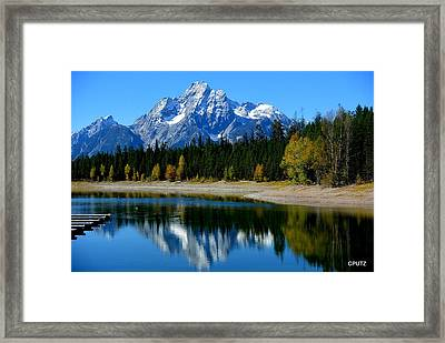 Grand Tetons 2 Framed Print by Carrie Putz