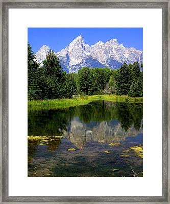 Grand Tetons 2 Framed Print by Marty Koch