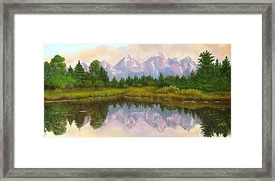 Grand Tetons Framed Print by Merle Blair