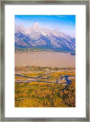 Grand Tetons Views Framed Print by James BO  Insogna