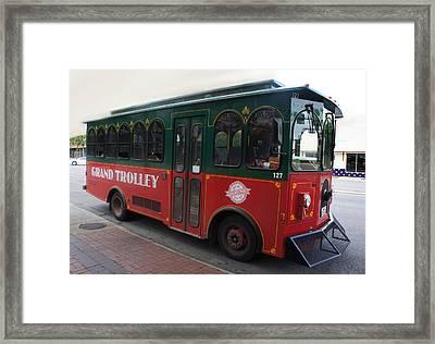 Grand Trolley Framed Print