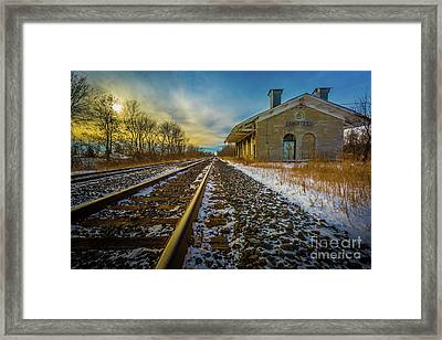 Grand Trunk Station  Framed Print