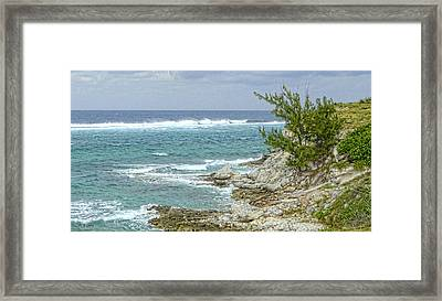 Framed Print featuring the photograph Grand Turk North Coast by Michael Flood