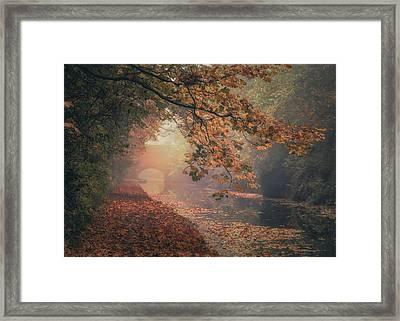 Grand Union Canal No 10 Framed Print by Chris Fletcher