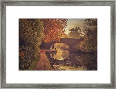 Grand Union Canal No 6 Framed Print by Chris Fletcher