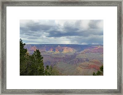 Framed Print featuring the photograph Grand View by Gordon Beck
