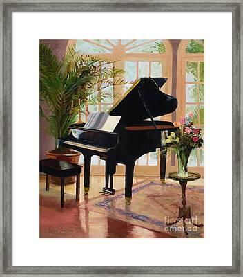Grand View By Marilyn Nolan- Johnson Framed Print