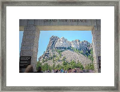 Grand View Framed Print by Mark Dunton