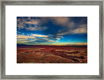 Grand View Point Framed Print