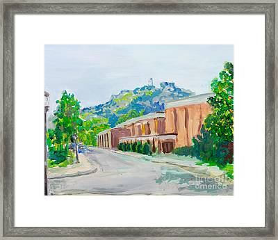 Grandad Bluff Framed Print by Carrie Hilson