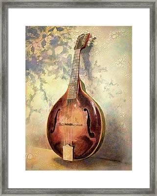 Grandaddy's Mandolin Framed Print by Andrew King