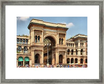 Grande Ingresso Framed Print by Jeff Kolker
