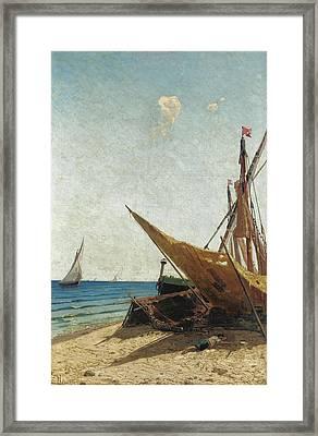 Grande Marina Framed Print by Ugo Manaresi