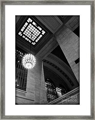 Grandeur At Grand Central Framed Print