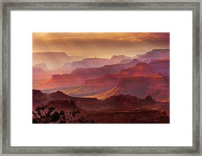 Grandeur Framed Print by Mikes Nature