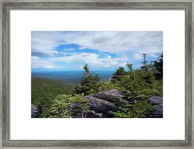 Grandfather Mountain Framed Print by Glenn Gemmell