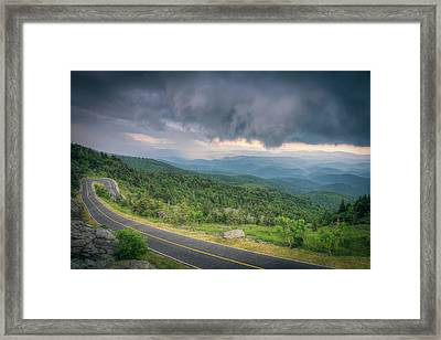 Grandfather Mountain Storm Framed Print