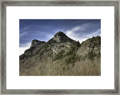 Grandfather Mt. Framed Print by Harry H Hicklin