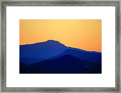 Grandfather Sunset Framed Print
