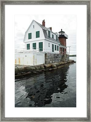 Grandfathers Lighthouse Framed Print
