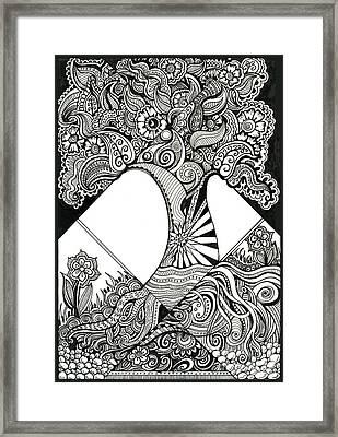Grandiose Framed Print by Danielle Scott