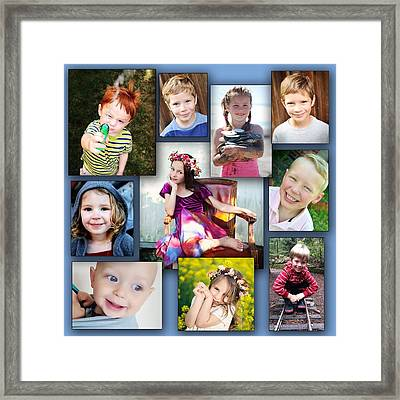 Grandkidz Framed Print