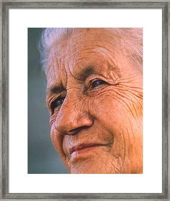 Grandma Framed Print by Don Wolf