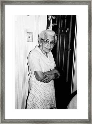 Grandma Framed Print by John Toxey