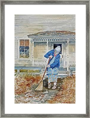 Grandma Framed Print by Monte Toon