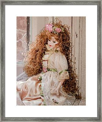 Grandma's Doll Framed Print