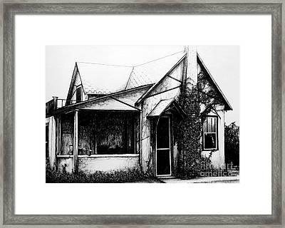 Grandma's House Framed Print by Donna Newsom