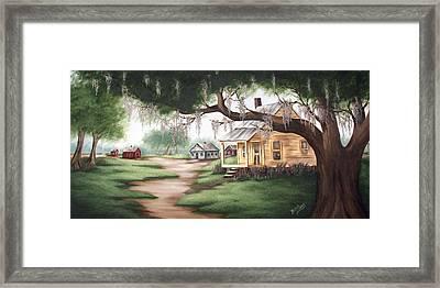 Grandma's House Framed Print by Ruth Bares