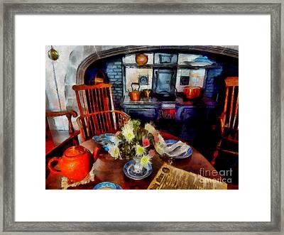 Grandma's Kitchen Framed Print
