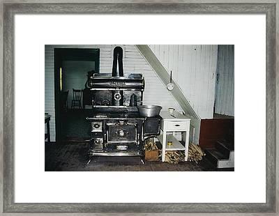 Grandma's Kitchen Framed Print by Shirley Sirois