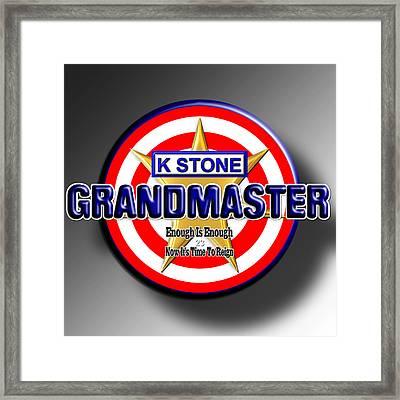 Grandmaster Framed Print