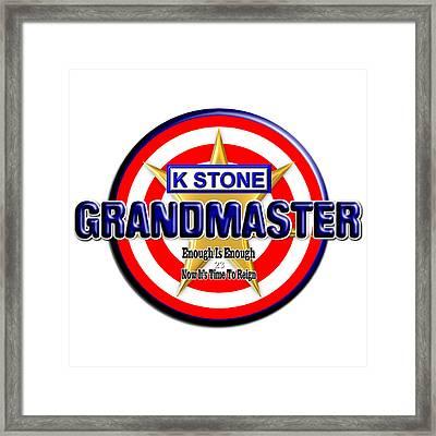 Grandmaster Version 2 Framed Print