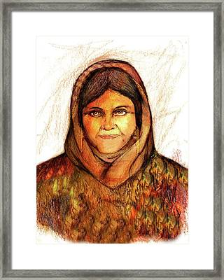 Grandmother Noora Framed Print