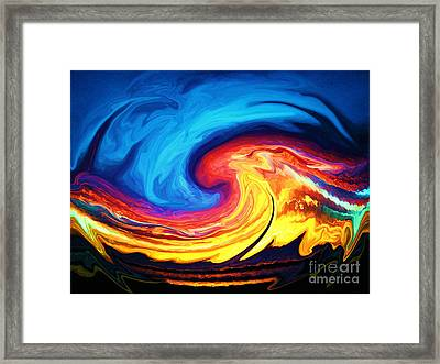 Grandmother Tiamat Framed Print