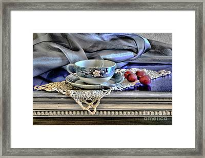 Grandmother's Gather Framed Print