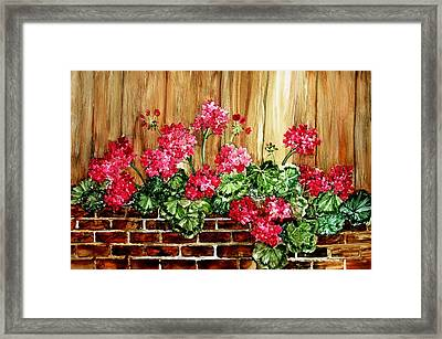 Grandmothers Gift Framed Print