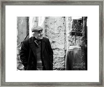 Grandpa Framed Print by John Rizzuto